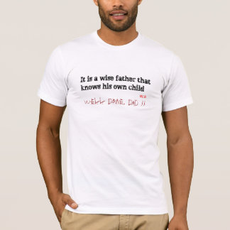 Brunnen getaner Vati, beste Vatertags-Geschenkidee T-Shirt