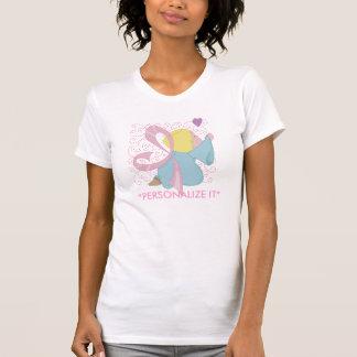 Brustkrebs-Engels-kundengerechtes T-Shirt