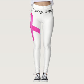 Brustkrebs-Gamaschen Leggings