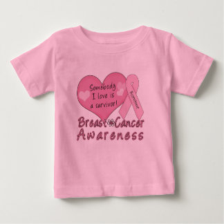 Brustkrebs-Überlebend-Säuglings-T - Shirt