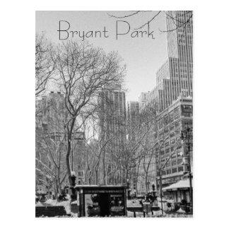 Bryant-Park Postkarte