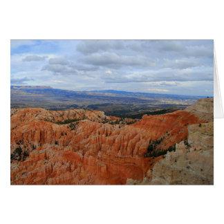 Bryce Schlucht-Nationalpark, Utah, Karte