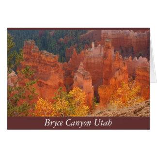 Bryce Schlucht Utah Karte