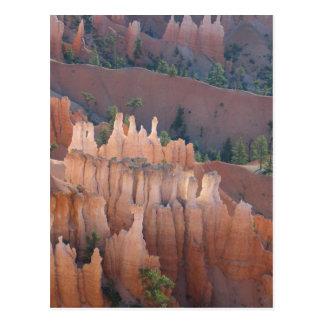 Bryce Schluchthoodoo-Ansicht Postkarte