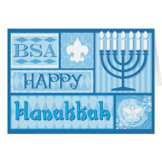 BSA/Happy Hanakkah Karten