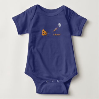 Btc zum Mond! Baby Strampler