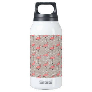 BTPF ROSA FLAMINGO-CARTOON-SOMMER-ART-MUSTER GR ISOLIERTE FLASCHE