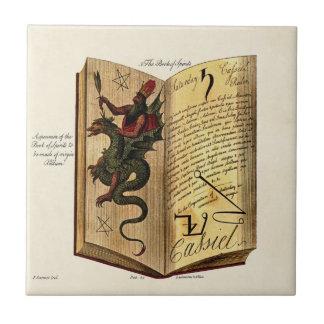 Buch der Geist-Fliese