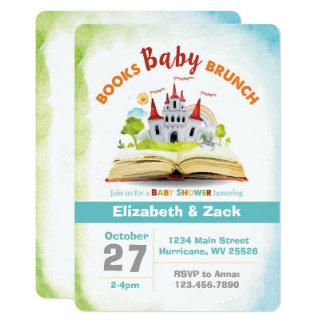 Buch-Duschen-Babyparty-Einladung 12,7 X 17,8 Cm Einladungskarte
