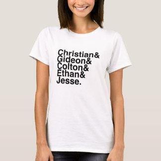 Buch-Freund christlich, Gideon, Colton, Ethan, T-Shirt