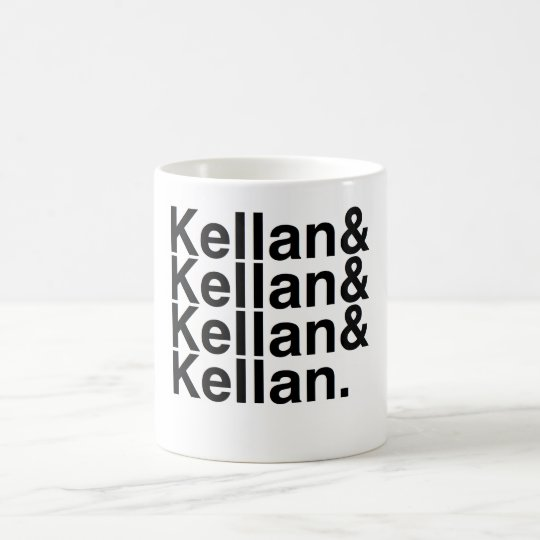 Buch-Freund Kellan, Kellan, Kellan, Kellan Kaffeetasse