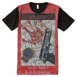 Buch-Kunst durch K.D. Kromminga--Wraith, Sin Inc. T-Shirt Mit Komplett Bedruckbarer Vorderseite