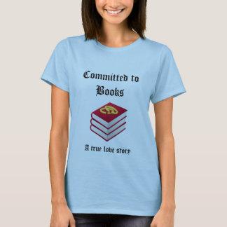 Buch-Liebhaber-Shirt T-Shirt
