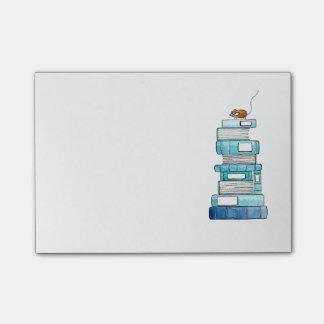 Buch-Mäuseklebrige Anmerkungen Post-it Klebezettel