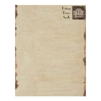 Buch Schatten BOS gespenstischen antiken Spuk Flyer