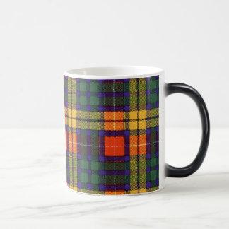 Buchanan-Clan karierter schottischer Tartan Verwandlungstasse