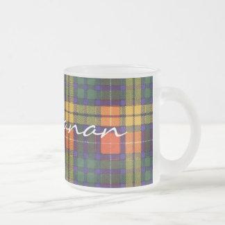 Buchanan-Familienclan karierter schottischer Kilt Mattglastasse