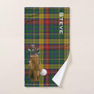 Buchanantartan-kariertes Golf-Tuch Handtuch