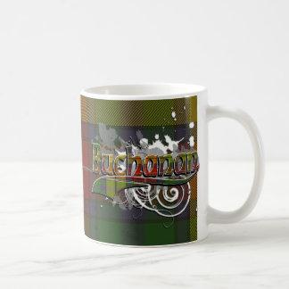 Buchanantartan-Schmutz Kaffeetasse