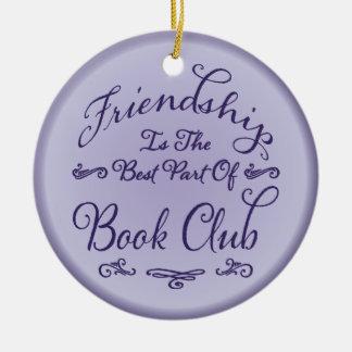 Buchgemeinschaft-Freundschafts-Verzierung Keramik Ornament