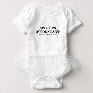 Buchhalter Spezifikt. Ops Baby Strampler