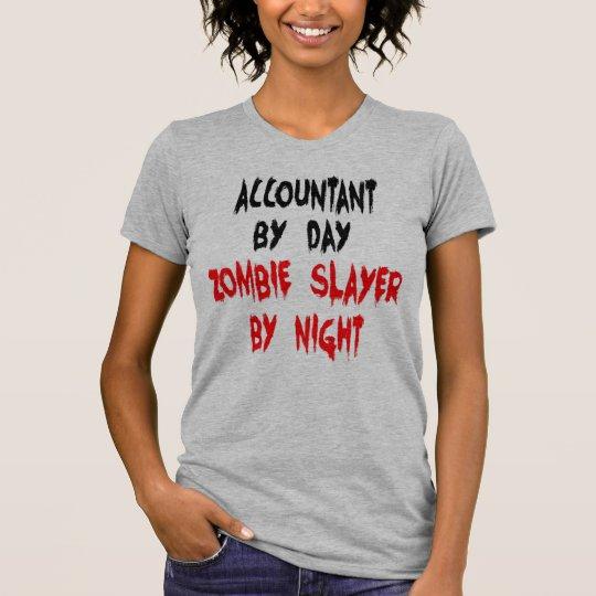 Buchhalter-Zombie-Witz T-Shirt