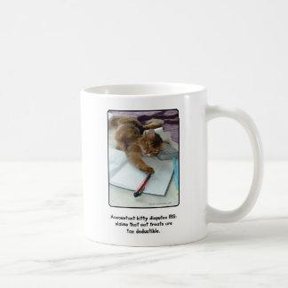 Buchhalterkitty-Tasse Kaffeetasse