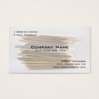 Buchhaltung Servies Visitenkarte