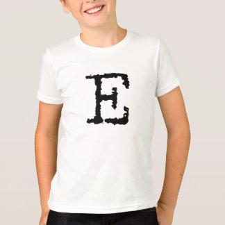 Buchstabe E T-Shirt
