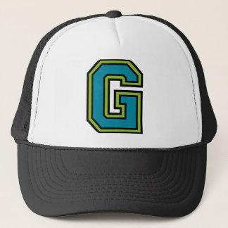 """Buchstabe """"G """" Truckerkappe"""