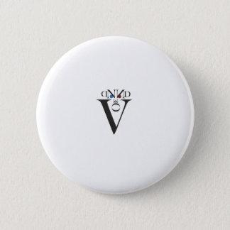 Buchstabe-Gesichts-Knopf Runder Button 5,1 Cm
