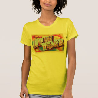 Buchstabe-Reise-Postkarte New York City #2 NY T-Shirt