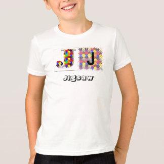 Buchstaben - J - Laubsäge T-Shirt
