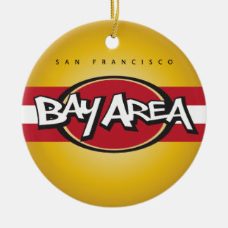 Bucht-Bereichs-Rot u. Goldverzierung Keramik Ornament
