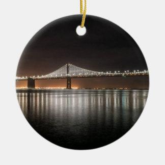 Bucht-Brücke Keramik Ornament
