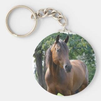 Buchtthoroughbred-Pferd Keychain Schlüsselanhänger