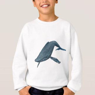 Buckel-Wal-Malerei Sweatshirt