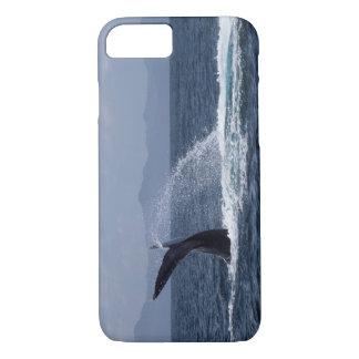 Buckel-Wal-Schwanz-Spritzen iPhone 8/7 Hülle
