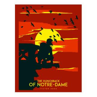 Buckliger von Notre Dame Postkarte