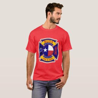 Buda Texas Feuer und EMS T-Shirt