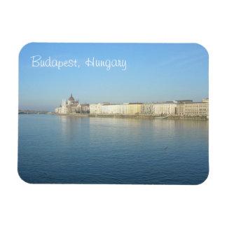 Budapest blaue Donau und Himmel Magnet
