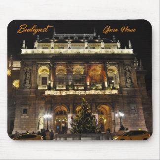 Budapest, das Opernhaus in den nächtlichen Mauspad