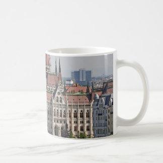 Budapest-Parlamentssüdseite, Ungarn Kaffeetasse