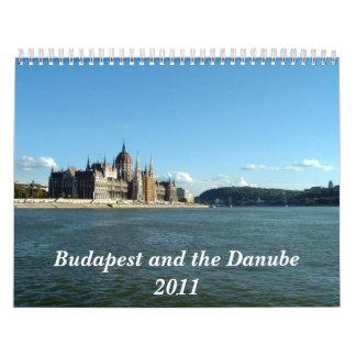 Budapest und die Donau Wandkalender