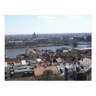 Budapest Ungarn die Donau Postkarte