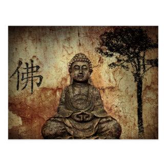 Buddah Postkarte