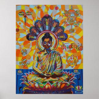 buddha - 2011 plakatdruck