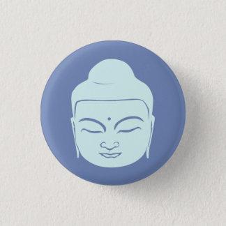 Buddha-Abzeichen. Frieden ist mit Ihnen Runder Button 3,2 Cm