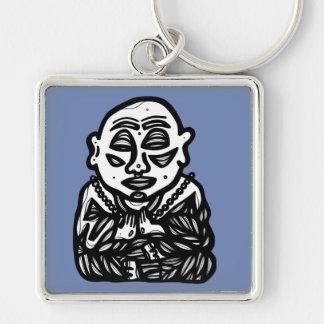 """""""Buddha beten"""" erstklassiges Keychain Schlüsselanhänger"""