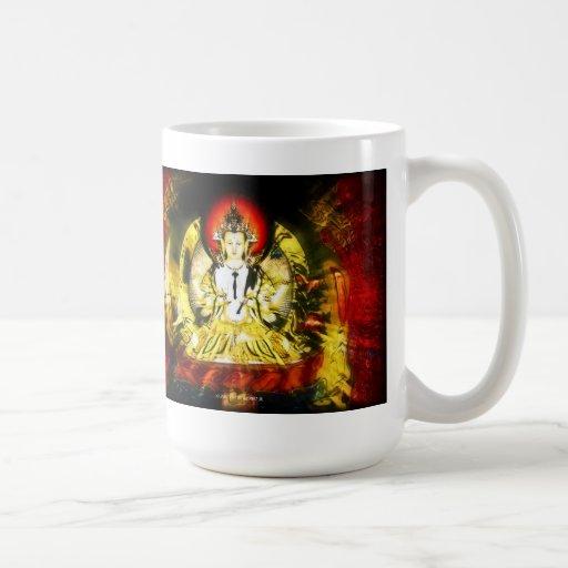 Buddha des Mitleids Kaffeehaferl